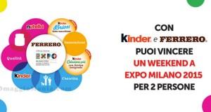 vinci EXPO 2015 con Kinder e Ferrero