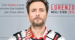 vinci biglietti per concerto Jovanotti Lorenzo negli stadi 2015