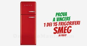 vinci frigorifero SMEG con il concorso Friskies