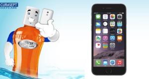vinci iPhone 6 con Curasept