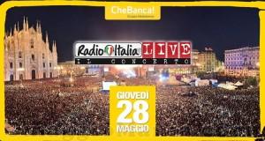 vinci la Yellow Experience con Radio Italia e CheBanca