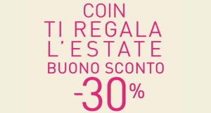 Coin ti regala l'estate