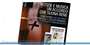 Deezer omaggio con La Repubblica