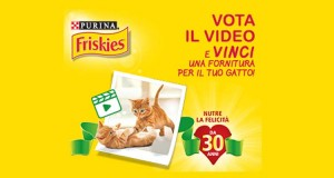 Friskies vota il video e vinci
