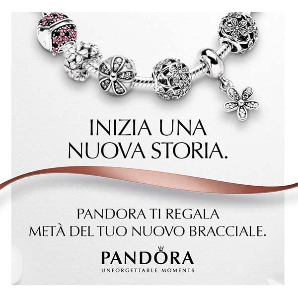 miglior sito web c457a e98ea Pandora ti regala metà del tuo nuovo bracciale - OmaggioMania