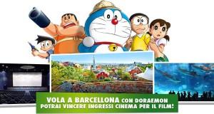 Vola a Barcellona con Doraemon