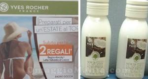 bagno doccia + latte omaggio da Yves Rocher