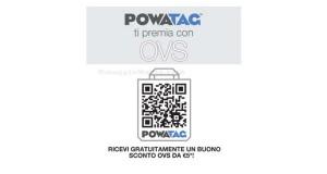 buono sconto OVS senza minimo di spesa con Powatag