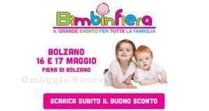 coupon Bimbinfiera Bolzano 2015