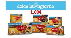 coupon Findus Dolce Buongiorno su Findus.it