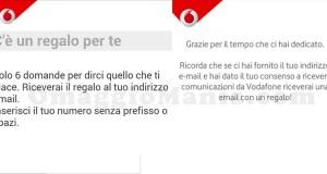 regalo a sorpresa da Vodafone