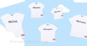 t-shirt T-Emotion omaggio da Original Marines