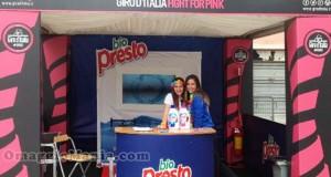 tour Bio Presto al Giro d'Italia 2015