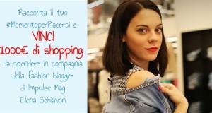 vinci 1000 euro di shopping con Elena Schiavon