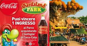 vinci Gardaland con Coca Cola
