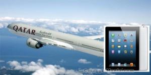 vinci iPad o biglietti aerei con Qatar Airways