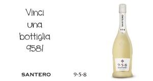 vinci una bottiglia di 958 Santero per la Festa della Mamma