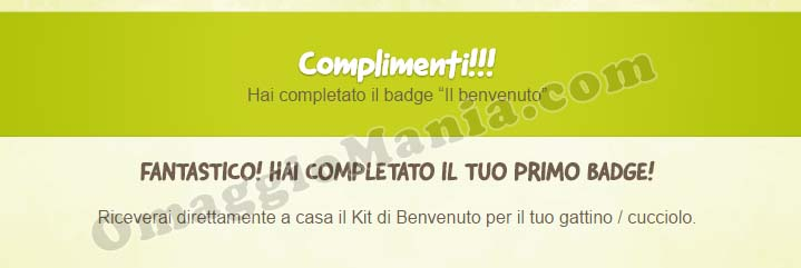 badge giugno kit Purina Friskies