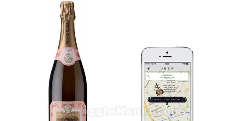 bottiglia di vino gratis con Uber e Tannico