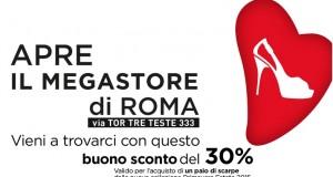 buono sconto Pittarello Roma Tor Tre Teste