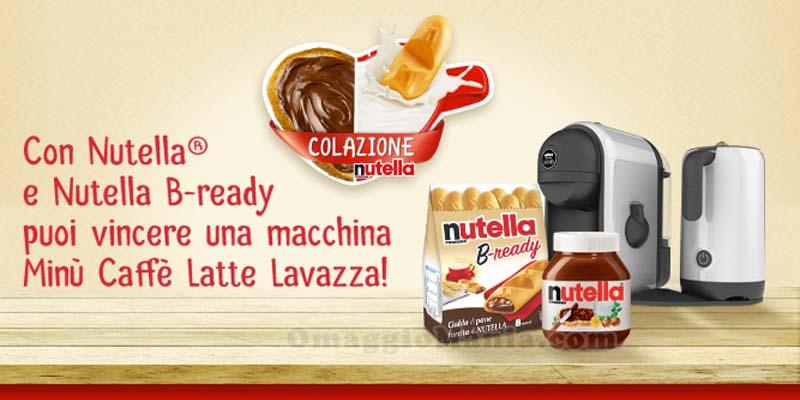concorso Colazione Nutella e Nutella B-ready
