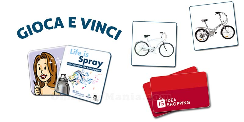 concorso Life is Spray
