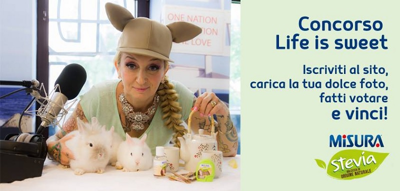 concorso Life is Sweet Misura Stevia