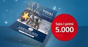 coriandoli Finale di Champions League 2015