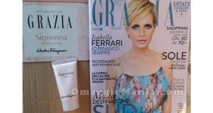 crema Signorina in omaggio con la rivista Grazia