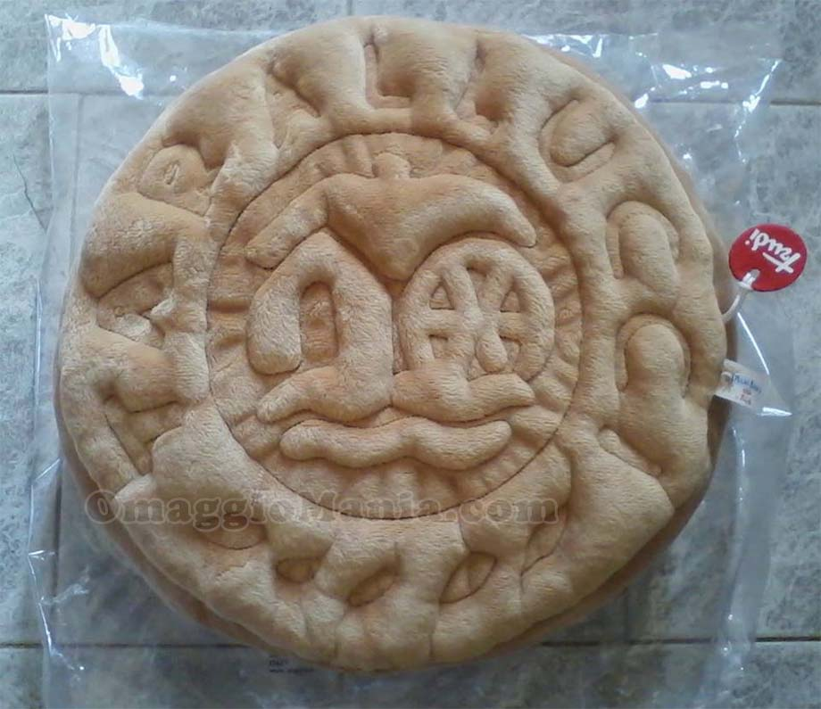 cuscino a forma di biscotto Mulino Bianco