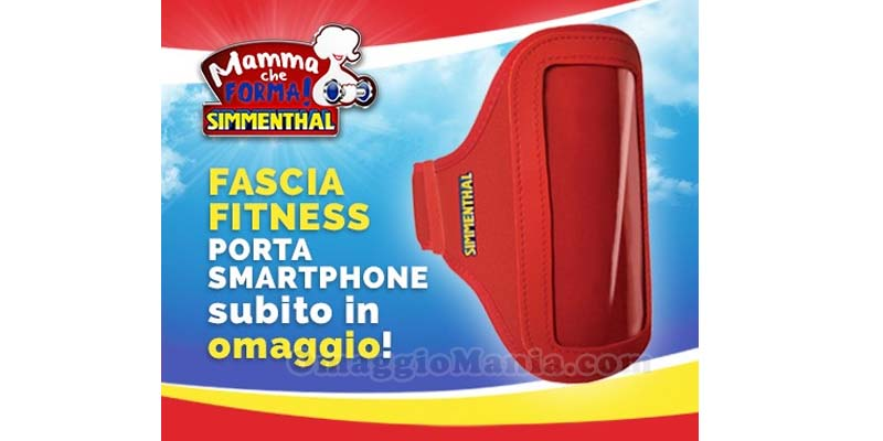 fascia fitness porta smartphone Simmenthal