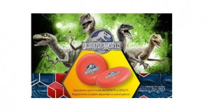 frisbee Jurassic World omaggio da Toys Center