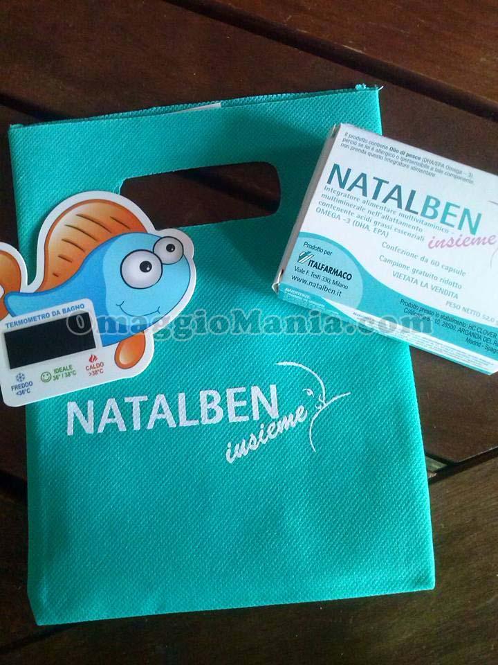 kit mamma Natalben ricevuto da Roberta