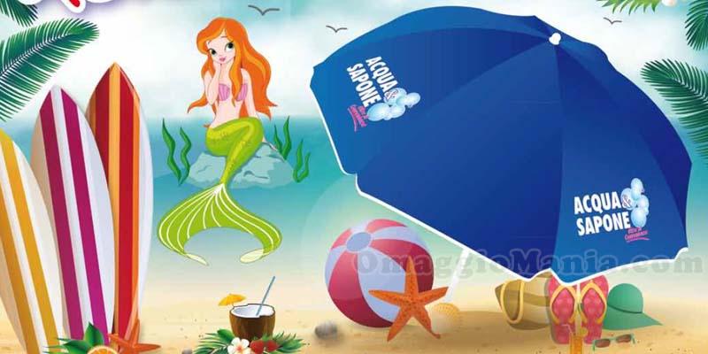 ombrellone omaggio da Acqua&Sapone
