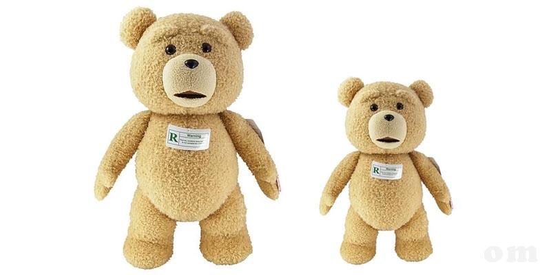 peluche TED 60 e 28 cm