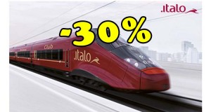 sconto Italo Treno 30%