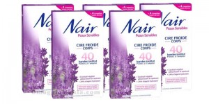 strisce depilatorie Nair