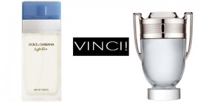 vinci Light Blue o Paco Rabanne Invictus