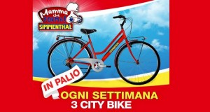 vinci city bike con Simmenthal