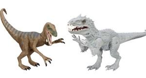 vinci dinosauri giocattolo di Jurassic World