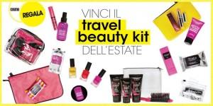 vinci il travel beauty kit dell'estate Shaka