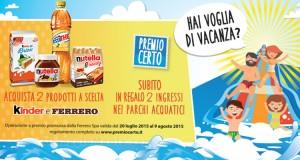 Premio Certo Kinder e Ferrero