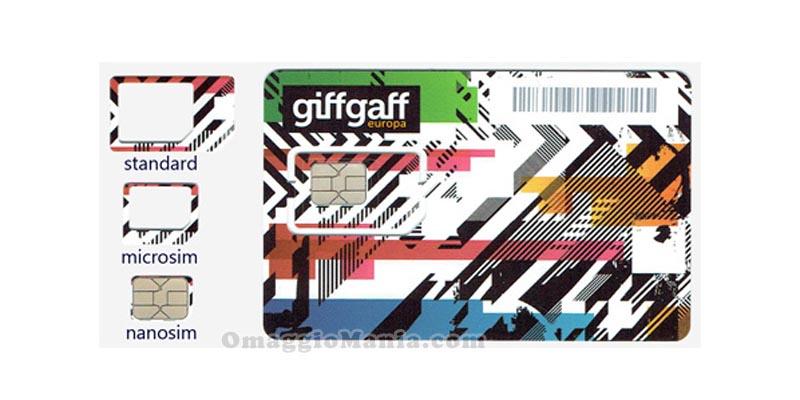 Sim GiffGaff gratis
