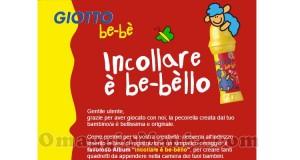 album Giotto incollare è be-bèllo in arrivo