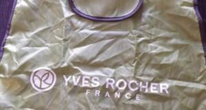 bag Yves Rocher e latte vellutato al lampone in omaggio