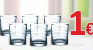bicchieri da acqua a 1 euro da Md Discount
