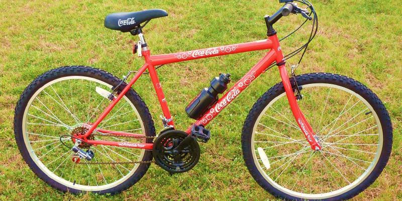 bicicletta Coca Cola