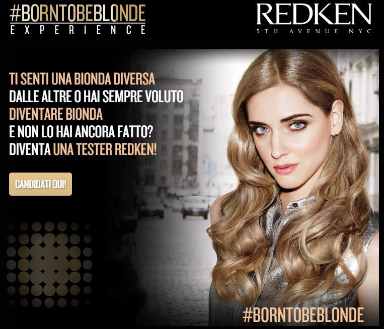 #borntobeblonde Experience Redken