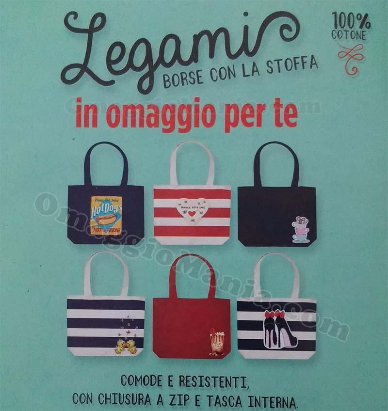 borsa Legami omaggio con Vanity Fair