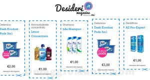 buoni sconto Desideri Magazine luglio 2015